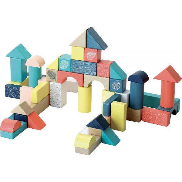Baril de 54 cubes - Sous la canopée