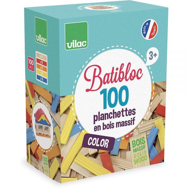 Batibloc color - 100 planchettes