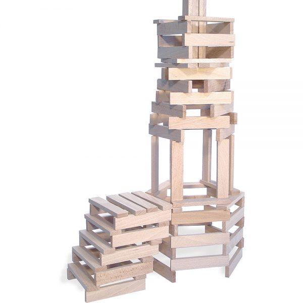 Batibloc classic - 200 planchettes en bois massif