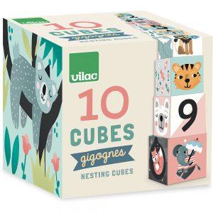 Cubes Gigognes -Les Animaux
