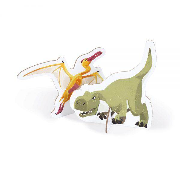 Puzzle géant Dinosaures 200 pièces