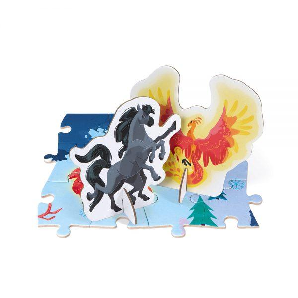 Puzzle géant mythes et légendes 350 pièces