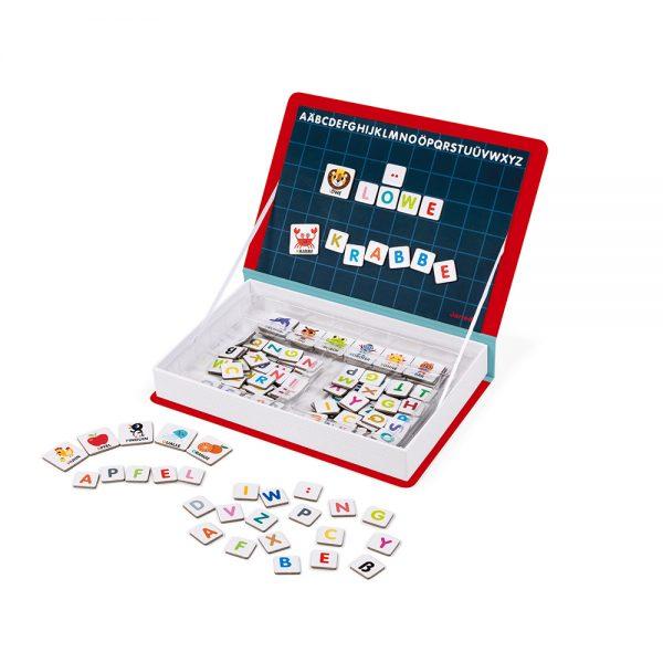 Magnéti'book Alphabet français - 142 magnets