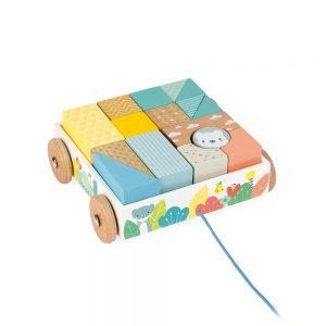 Chariot de cubes - Janod