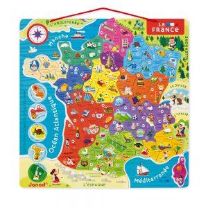 Puzzle France - magnétique