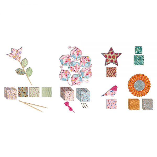 Kit créatif - Origamis Jolies Décos
