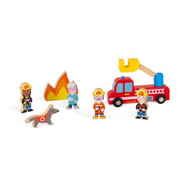 Set pompiers story - Janod